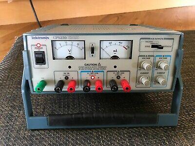 Tektronics Cps250 Triple Output Dc Power Supply - Analog - Read Description