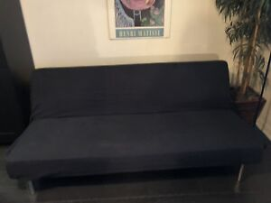 Long Black Futon
