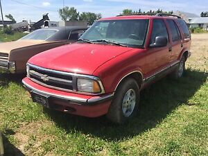 1997 Chevrolet blazer 4x4