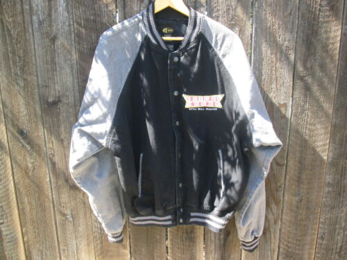 POLITICALLY INCORRECT with BILL MAHER Vintage TV Crew Jacket
