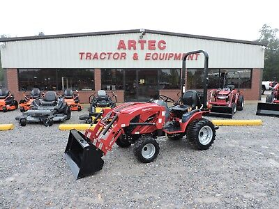 2018 New Mahindra Emax 22 Tractor With Loader - 4wd - 7 Year Warranty