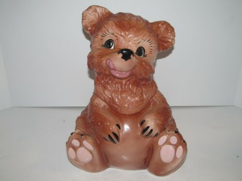 Vintage Gilner Teddy Bear Cookie Jar