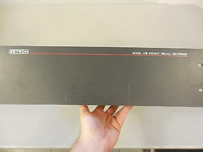 Zetron Model 21b Instant Recall Recorder - Base Unit