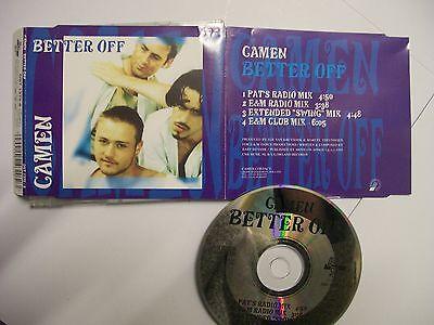 CAMEN Better Off – 1995 German CD Maxi-Single – House – (Best German House Music)