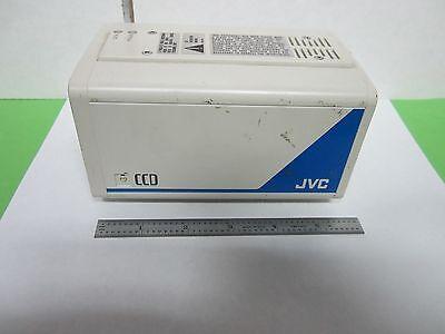 Microscope Inspection Video Camera Ccd Jvc Tk-870u As Is Optics Binn4-01