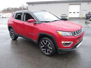 2018 Jeep Compass Limited - Leather / Panoramic Sunroof / Naviga