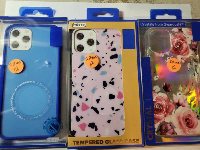 Cell Phone Cases Lot of 3 for iPhone 12