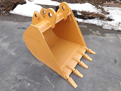 New 36 Case 580n Backhoe Bucket With Teeth