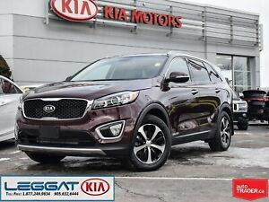 2018 Kia Sorento EX+ V6 | ONE OWNER | TRADE IN | PANOROOF | LTHR