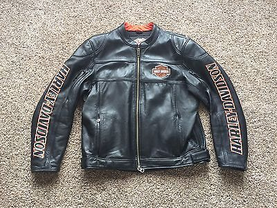 Harley Davidson Men's Black Leather Jacket XL $549 retail