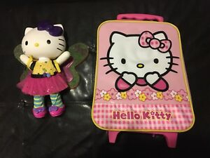 HELLO KITTY (light up doll & luggage bag) LIKE NEW