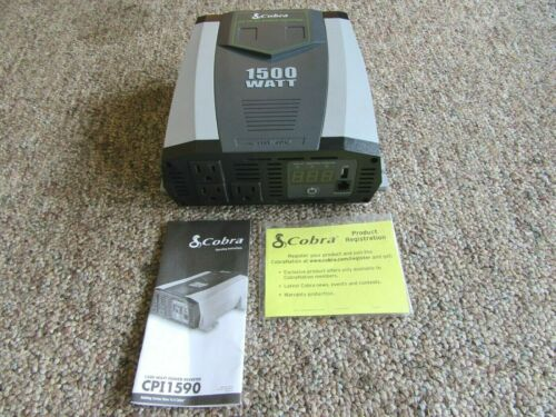 Cobra CPI 1590 1500 Watt Power Inverter