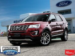 2016 Ford Explorer XLT, LEATHER, NAVIGATION, SUNROOF
