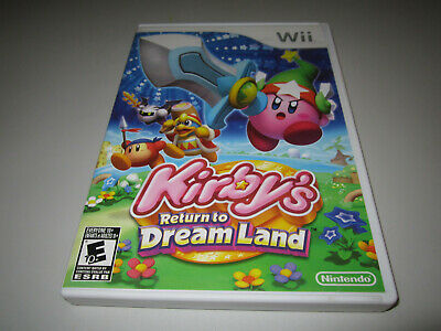 Kirby's Return to Dream Land (Nintendo Wii, 2011) Complete