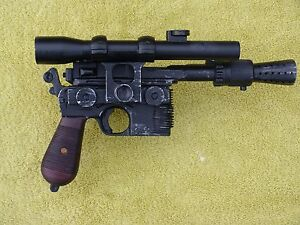 Han Solo Blastech DL-44 Blaster screen accurate 3D Resin Model Kit Prop Replica