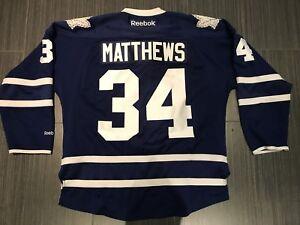 Reebok Auston Matthews Toronto Maple Leafs Hockey Jersey