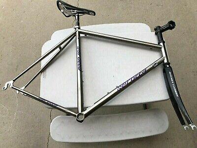 Vintage Rossin Prestige Bicycle Fork Threaded 700C Ghibli Road Bike Fork