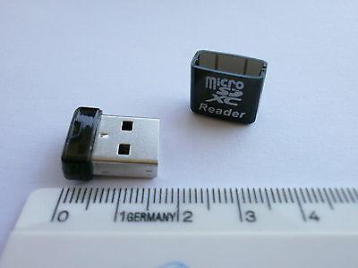 Mini Kartenleser USB 2.0 Cardreader Adapter Micro SD/SDHC/SDXC Karte zu USBStick online kaufen