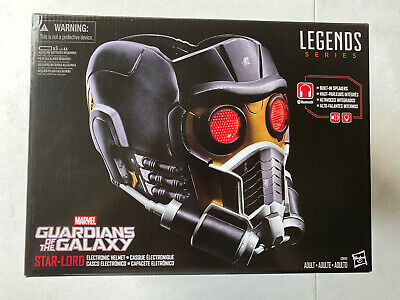 Marvel Legends Guardians of the Galaxy Star-Lord Electronic Helmet NEW!