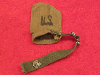 US WWII Web Muzzle Cover dated 1944