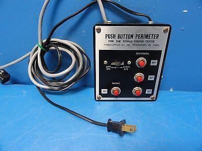 Titmus Optical Push Button Perimeter For The Titmus Vision Tester 9014