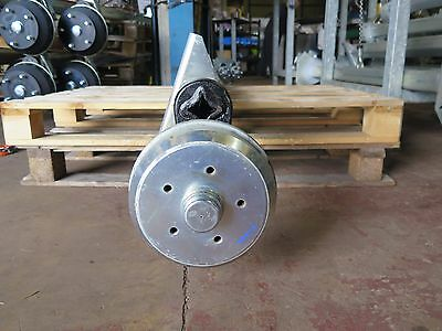 1300kg CAPACITY BRAKED AXLE - 5 x M12 on 112mm PCD