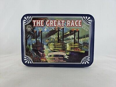 The Great Riverboat Dice Game In Tin Case Channel Craft 2007 NEW