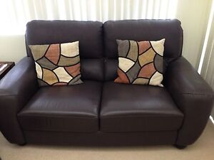 Leather 2 seater sofa - Australian made North Narrabeen Pittwater Area Preview