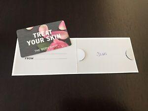 Body Shop Gift Card ($31.60)