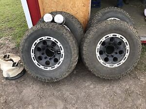 1 ton rims and tires