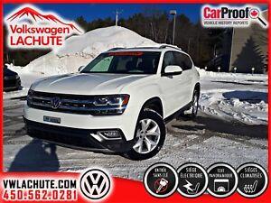 2018 Volkswagen Atlas HIGHLINE + TOIT + SIÈGE CAPITAINE + CUIR +