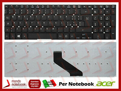 Tastiera Notebook ACER Aspire 5755G 5830TG V3-571 V3-771G V5-561 Layout Italiano