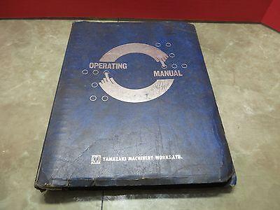 Yamazaki Mazak Operating Manual M-1 Vqc-2040b 52914 Cnc Vertical Mill