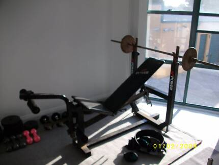 Complete weight set and bench. Newcastle East Newcastle Area Preview