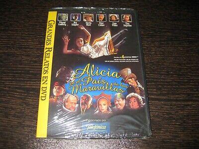 ALICIA EN EL PAIS DE LAS MARAVILLAS DVD WHOOPI GOLDBERG PPRECINTADA NUEVA