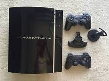 80GB Sony PlayStation 3 + 4 accessories + 17 games Pyrmont Inner Sydney Preview