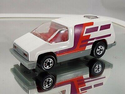 Hot Wheels 1978 White Orange Pink Magenta Van - Made in India - RARE! -Free Ship