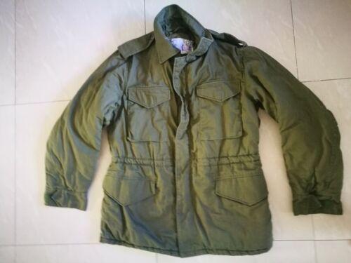 Vintage IDF Israel Army Paratrooper Coat Jacket Parka Size Medium