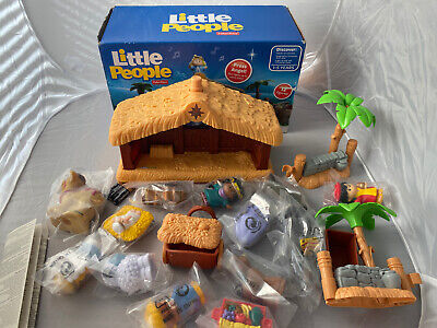 FISHER PRICE LITTLE PEOPLE NATIVITY SET DELUXE CHRISTMAS STORY J2404 NEW