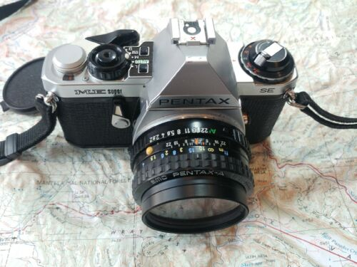 PENTAX ME-SUPER SE 35mm SLR f2 Nice Condition