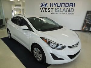 2016 Hyundai Elantra L + A/C 1.8L 56$/semaine