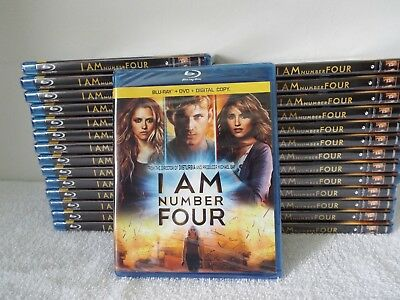 I Am Number Four-Blu-Ray+DVD+Digital Copy-28 Sets-New Factory Sealed
