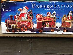 Christmas train ideal for mantel