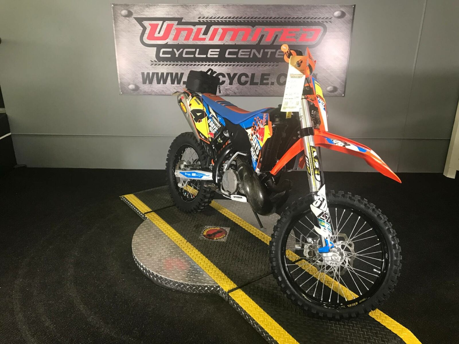 Picture of A 2010 KTM 300 XC-W
