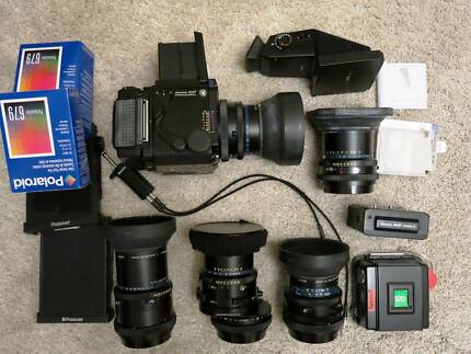 MAMIYA-RZ67-Professional camera+4 Lenses +Many Accesories South Yarra Stonnington Area Preview
