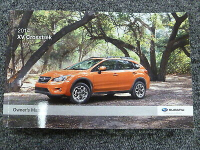 2014 Subaru XV Crosstrek SUV Owner Manual User Guide 2.0i Premium Limited CVT