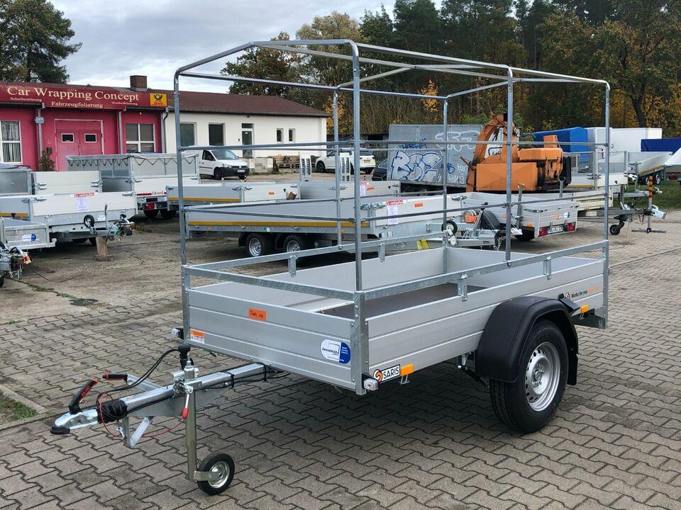 ⭐Anhänger Saris McAlu Pro DV135 1350kg 255x133x30+150cm Plane NEU in Schöneiche bei Berlin