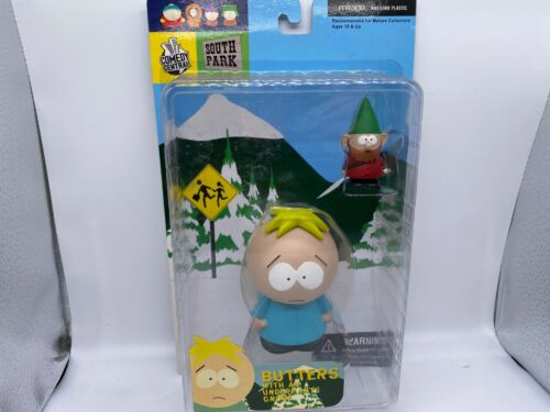 Butters Underpants Gnome South Park Mirage Series 1 toy figure ULTRA RARE NOS
