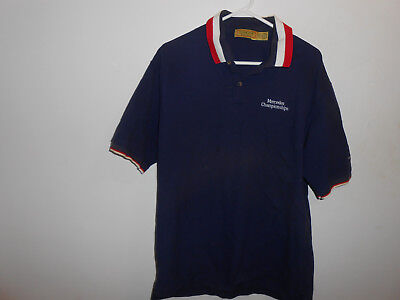 Cross Creek Mens Shirt PGA Mercedes Championship Kapalua Polo Golf L Large USA for sale  Shipping to Canada