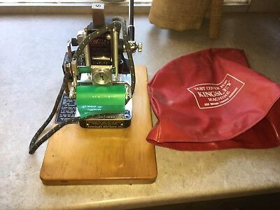 Kingsley Hot Foil Stamping Embossing Machine Model M-50